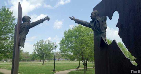 RFK MLK statue Indy